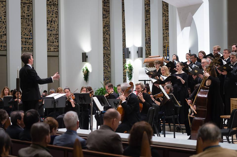 THE MAESTRO SERIES:  An interview with Dana Marsh, the newly-appointed artistic director of the Washington Bach Consort