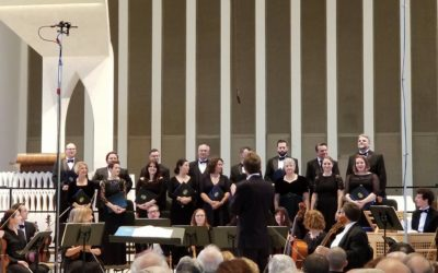 Turning the Page:  Dana Marsh leads The Washington Bach Consort as their new artistic director