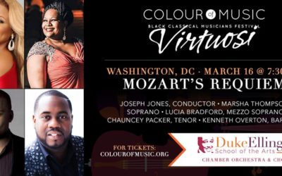 Performance of Mozart Requiem to Cap Performances Celebrating the Life of Peggy Cooper Cafritz