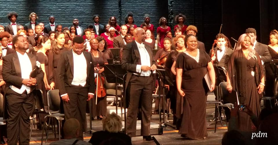 A MEMORABLE DÉBUT:  The Colour of Music at The Duke Ellington School of the Arts