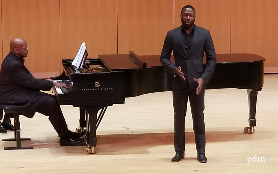 IN REVIEW:  Bass-baritone Carl DuPont in Varied Program of Music by African-American Composers