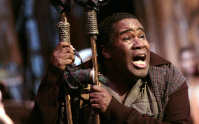 FROM THE ARCHIVES:  My 2010 interview with bass-baritone Eric Owens about his role as Porgy