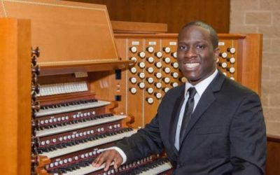 WITH MAJESTY:  Organist Nathaniel Gumbs to Make Recital Début at Gateways Music Festival