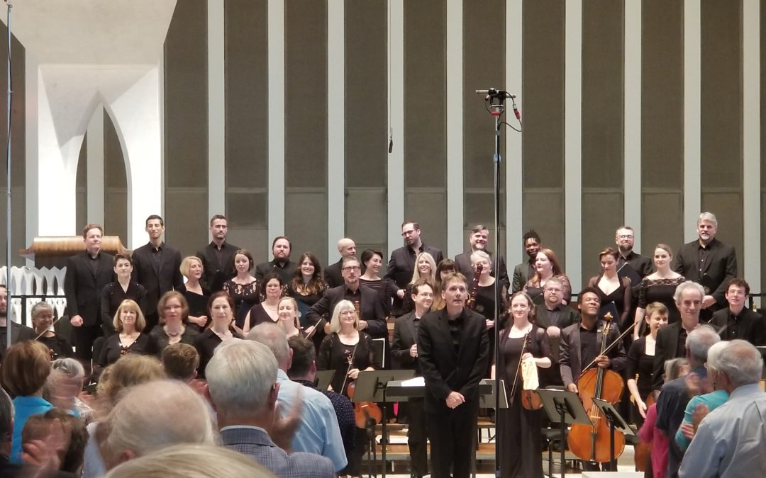 REVIEW:  A Royal Occasion with The Washington Bach Consort