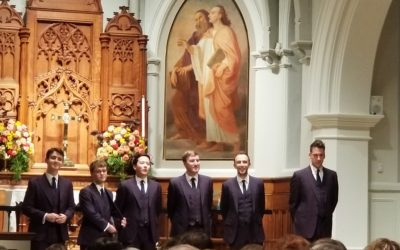 REVIEW:  The King's Singers in Concert at Saint John's Georgetown