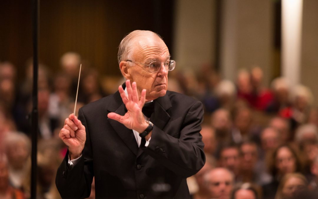 CHANGING SEASONS:  The City Choir of Washington Announces the Retirement of Robert Shafer