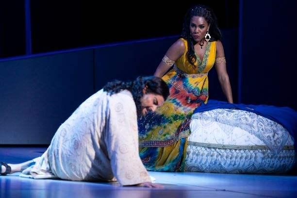 A TEMPTER'S SNARE:  An Old Biblical Story Gets a Fresh Take