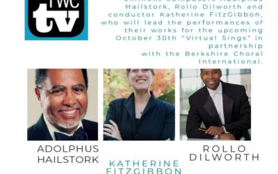 Composers Adolphus Hailstork and Rollo Dilworth recently featured on The Washington Chorus' Virtual Series