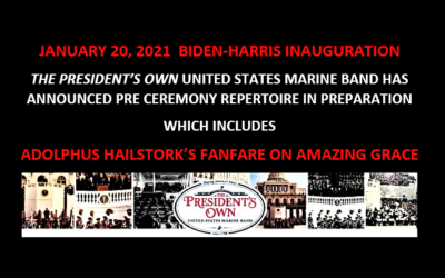 Music of Renowned Composer Adolphus Hailstork to be Featured at 2021 Presidential Inauguration