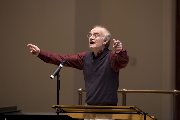 THE MAESTRO SERIES:  An Interview with World-Renowned Composer and Conductor John Rutter