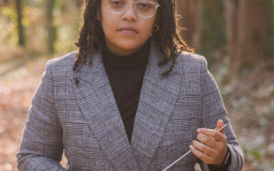THE MAESTRA SERIES:  Naima Burrs-Conductor and Violinist