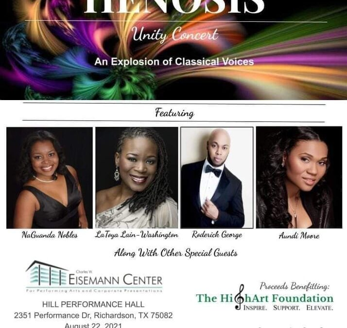 THE SPOTLIGHT SERIES:  Soprano NaGuanda Nobles chats about this Sunday's Concert Henosis