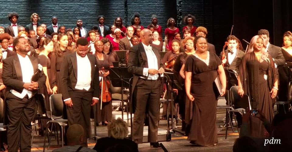 A MEMORABLE DÉBUT:  The Colour of Music at The Duke Ellington School of the Arts