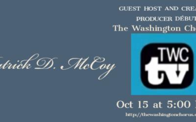The Washington Chorus' TWC TV Names a New Host