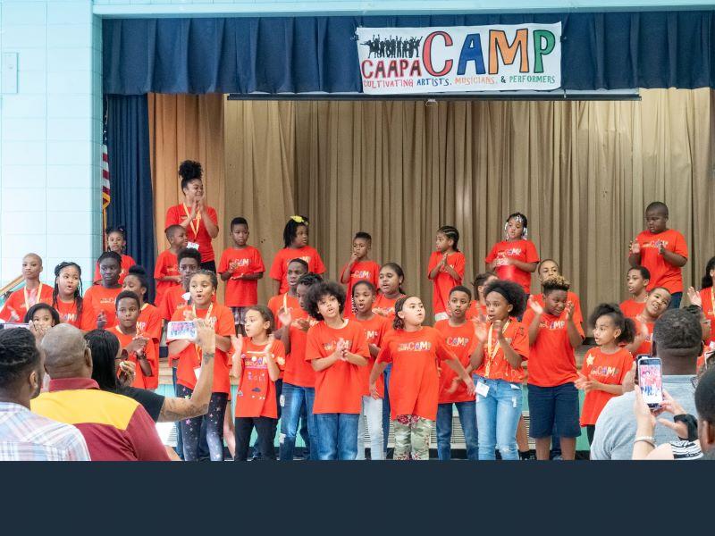 Free Summer Arts Camp Kicks Off August 9